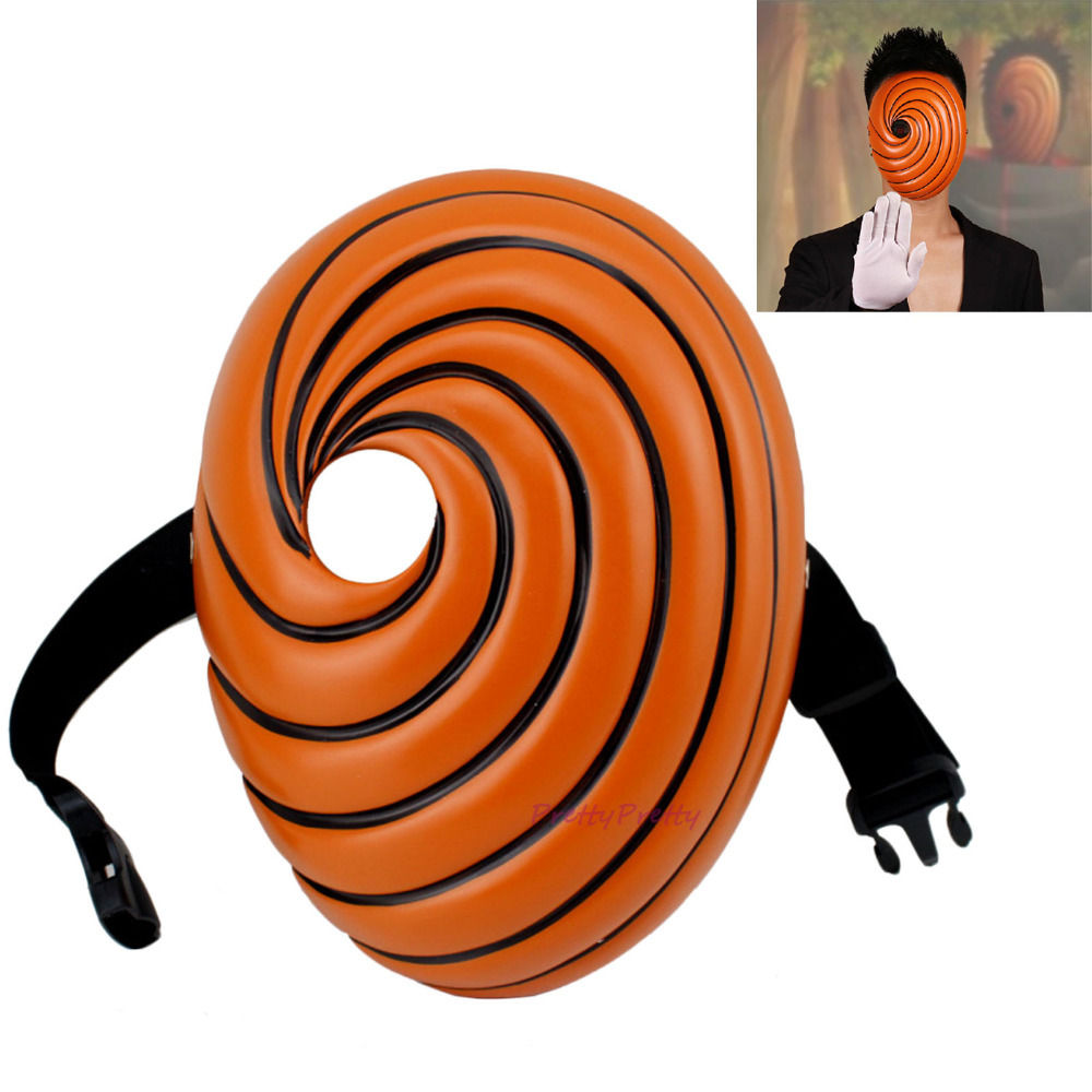 ФОТО Free Shipping Masks Toys For Child gift Japan Cartoons Tobi Obito Naruto Akatsuki Ninja Madara Uchiha Anime Halloween Cosplay