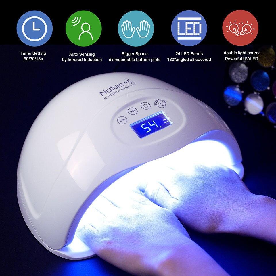 Modelones Nagel Trockner 48 W LED UV Lampe Fingernagel Gel Aushärtung Maniküre Nail art Salon Werkzeug Für Nagel Gel Nagel maschine Werkzeuge