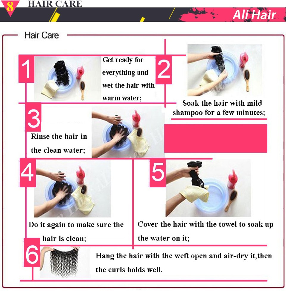Brazilian Virgin Hair Straight 4 Bundles (15)