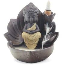 Incense Burner Backflow Tower Cones Sticks Holder Ceramic Porcelain Catcher-Incense  ceramic statue ganesha Z269