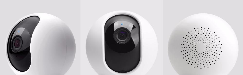 оригинальный xiaomi красный рис mijia смарт-камера для IP камера Video Camera 360 угол панорама беспроводной беспроводной 720 р волшебная сумма нет доказательства