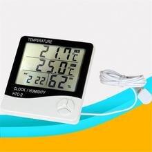 HTC-2Digital ЖК-термометр гигрометр электронный Температура измеритель влажности, внутренняя Погодная станция уличный индикатор 1 шт. J3