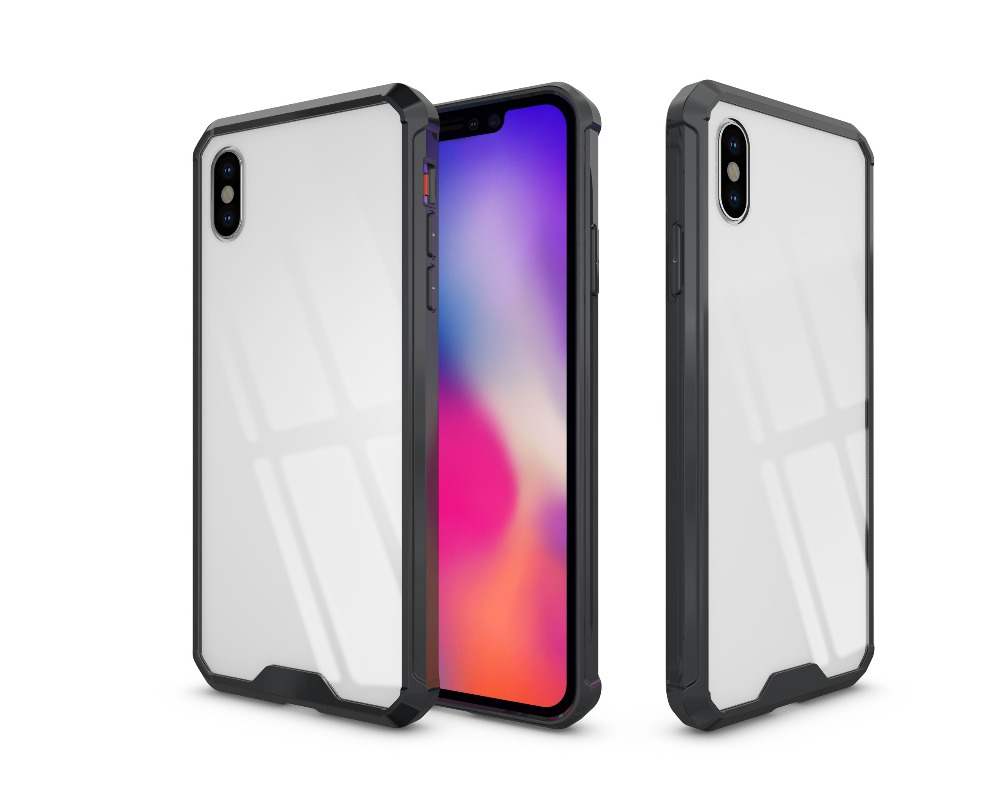 For iPhone XS Max Cover UYFRATE Ultra Slim Transparent Clear Hard Case Funda For iPhone XS Max XR XS X 8 8 Plus 7 6 6S 6 Plus