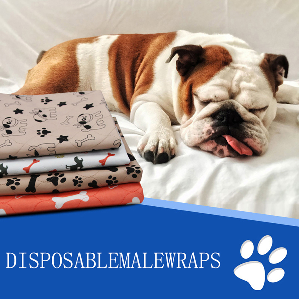 Dog Pet Pad Puppy Training Mat Washable Reusable Pee Pads For Dog Cat Whelping floor Pads Bed Sofa Mattress Protector Cover
