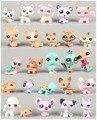 25 шт. Pet Shop Стоя Кошка Собака Animail Коллекция рисунках Дети Подарок LPS