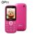 OIPRO MTK6260M I3200 2.0 pulgadas Teléfono Celular para Ancianos GSM Celular Desbloqueado Teléfono Móvil Dual SIM Inglés/Español/portugués