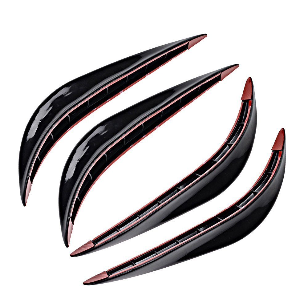 2PCS Car crash bar rubber bumper Auto decoration strip for Chevrolet Lanos Malibu Metro Monte Carlo MW Niva Sail Sonic Spark chevrolet niva 1 8 mt