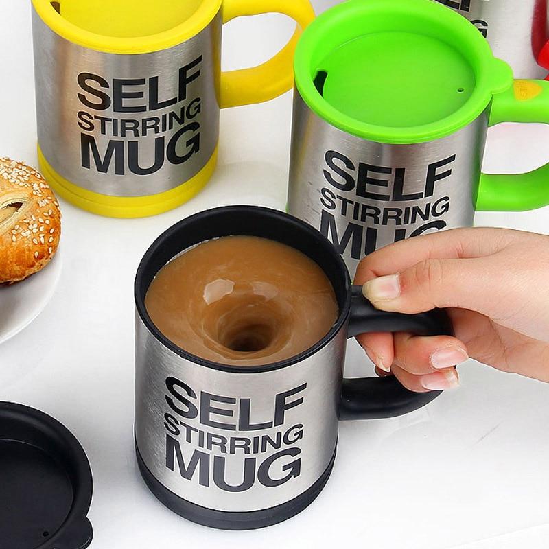 400Ml Mug Automatic Electric Lazy Self Stirring Mug Automatic Coffee Milk Mixing Mug Tea Smart Stainless Steel Mix Cup