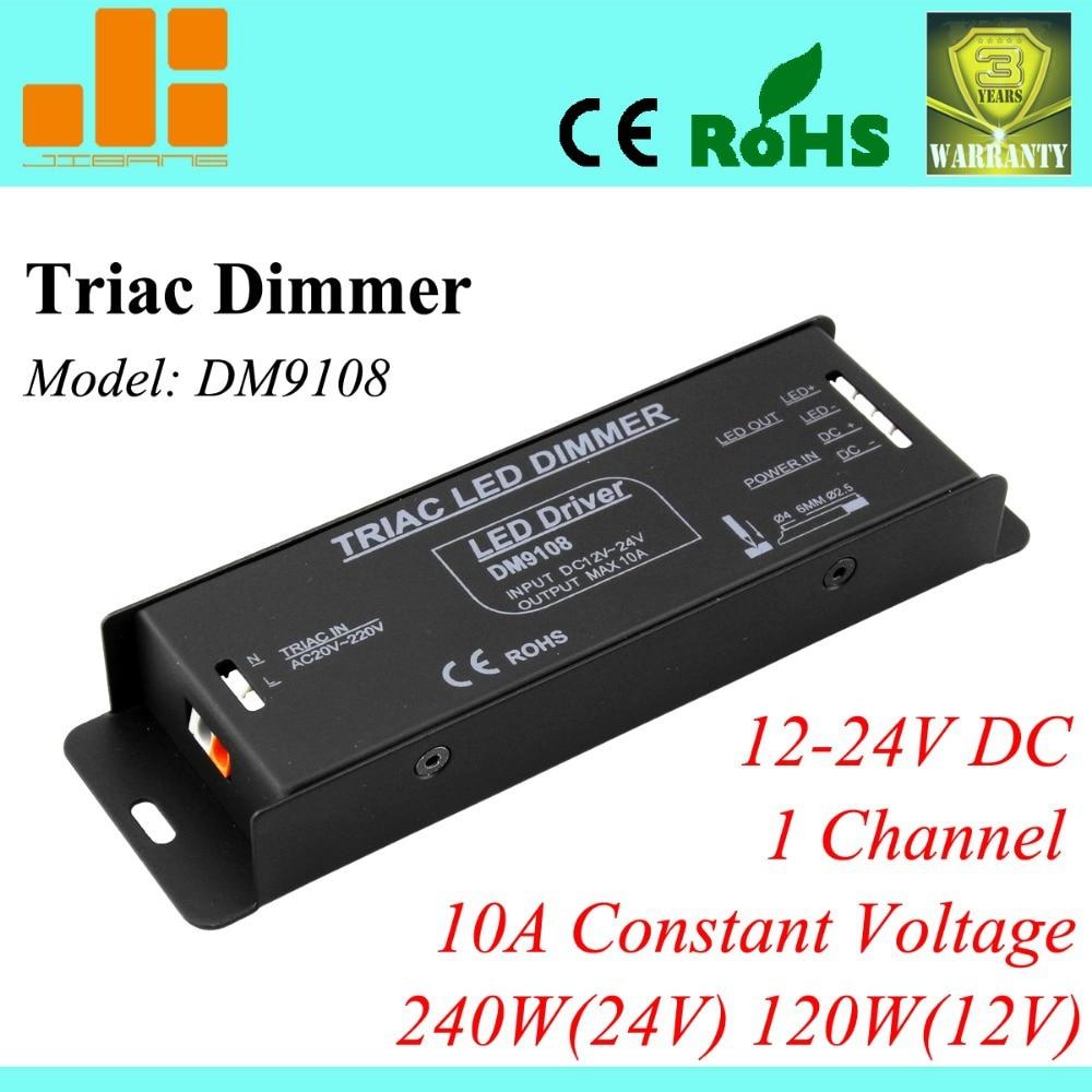 free shipping triac dimmer led triac dimming driver 12v 24v 1ch 10a [ 1000 x 1000 Pixel ]