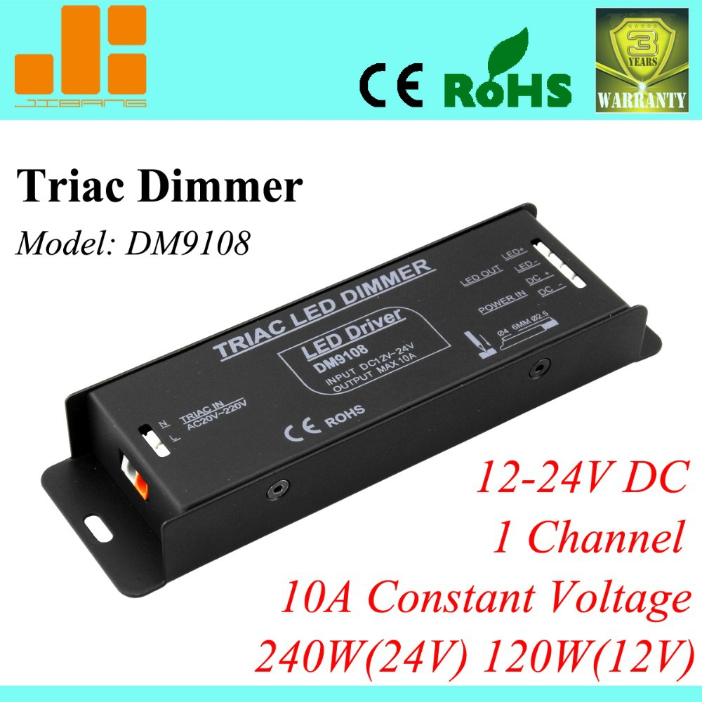 Free Shipping Triac dimmer, LED Triac dimming driver,12V/24V 1ch/10A/240W  DM9108-in Dimmers from Lights & Lighting on Aliexpress.com | Alibaba Group