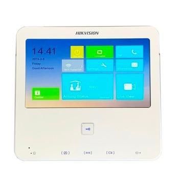Hik Multi-language V1.5.0 DS-KH6300-W 7-inch Touch Indoor Monitor,P2P, IP doorbell, Video Intercom,wired doorbell,build-in WiFi Video Intercom