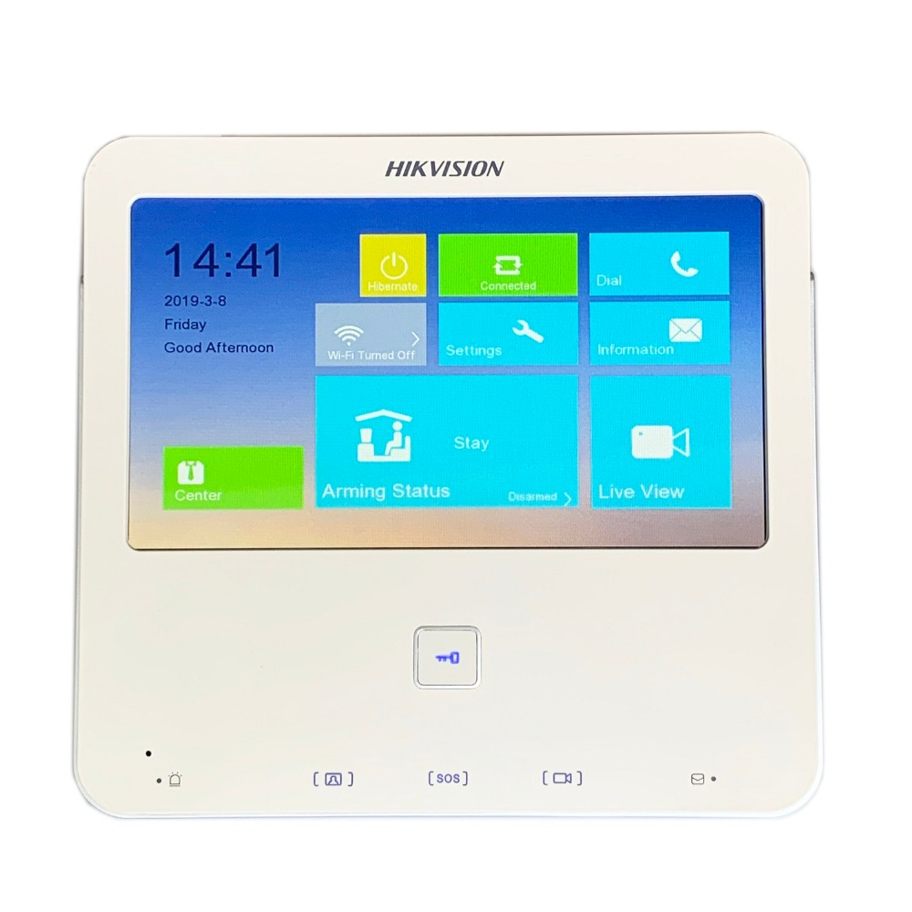 Build-in Wifi Kaufen Sie Immer Gut Video Intercom Ip Türklingel Hik Multi-sprache V1.5.0 Ds-kh6300-w 7-zoll Touch Indoor Monitor Verdrahtete Türklingel P2p