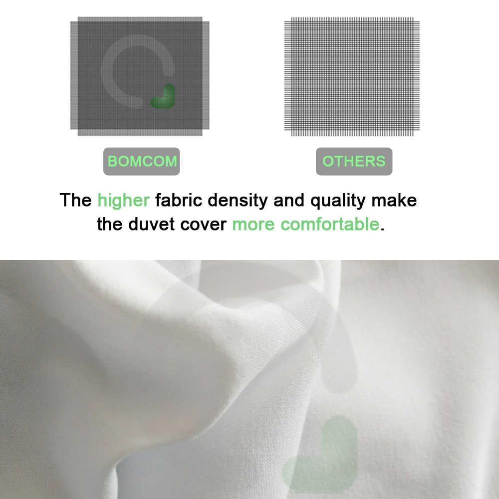 طقم سرير مخصص بطباعة رقمية ثلاثية الأبعاد من BOMCOM. تقديم أي عمل فني ، تصميم ، صورة