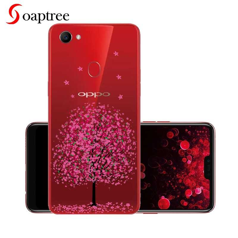 Wholesale Silicone Cases For OPPO F7 Case Soft TPU Transparent For Oppo A83 A1 Fundas For Oppo Realme 1 F7 Youth A73S Coque