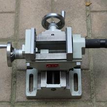 QKF-2 настольная дрель, переменный фрезерный станок, прецизионные поперечные тиски, маленькие тиски, 4 дюйма