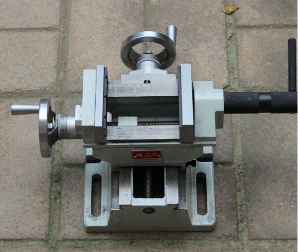 QKF-2 bench drill, variable milling machine, precision cross vise, small vise, 4 inch ...