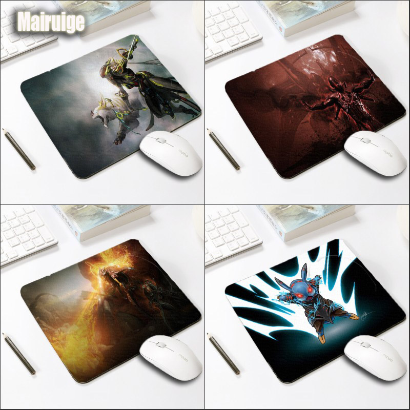 Mairuige Warframe Pattern Gaming Mousepad Tenno Warrior Volt Rubber Comfortable Pc Computer Notebook Game Gaming Mouse Pad
