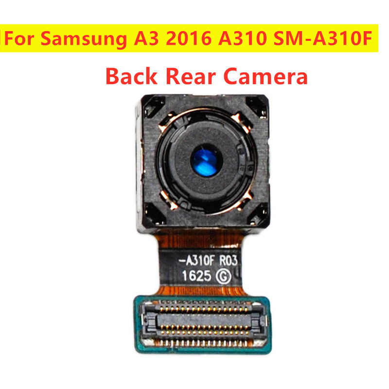 Back Rear Main Camera Part Flex For Samsung Galaxy A3 2016 A310 A310F SM-A310F Back Camera