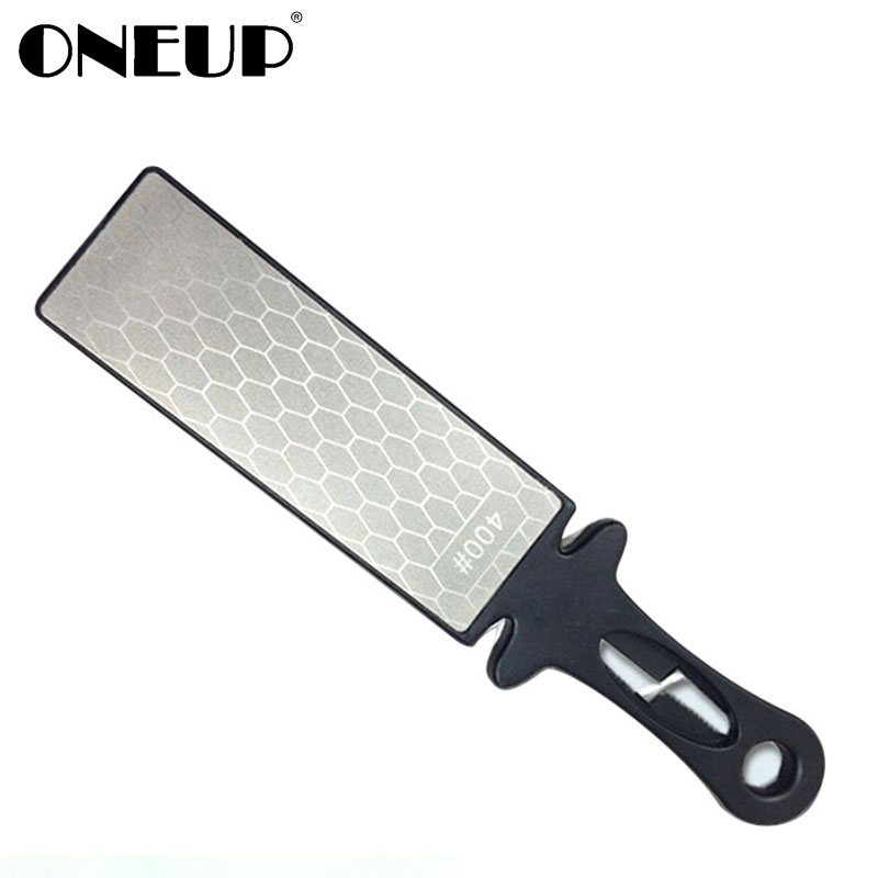 US $13.56 36% OFF ONEUP 400#Diamond Knife Sharpener Kitchen Knife  Sharpening Stone Portable Outdoor repair tools Sharpening Tools For  Knives-in ...