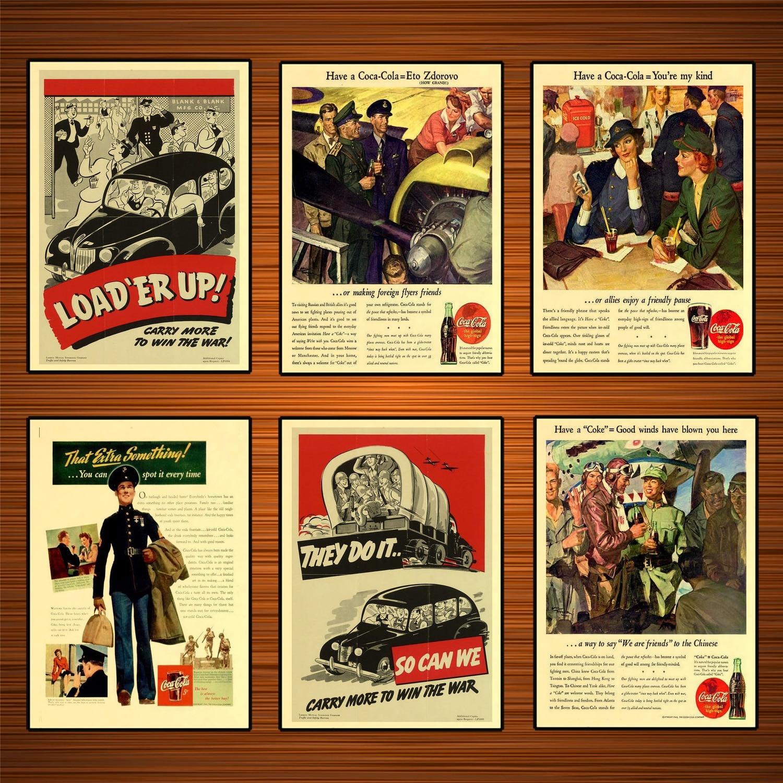 Vintage Coca Cola Adfvertisement Poster 5 A3//A4 Print