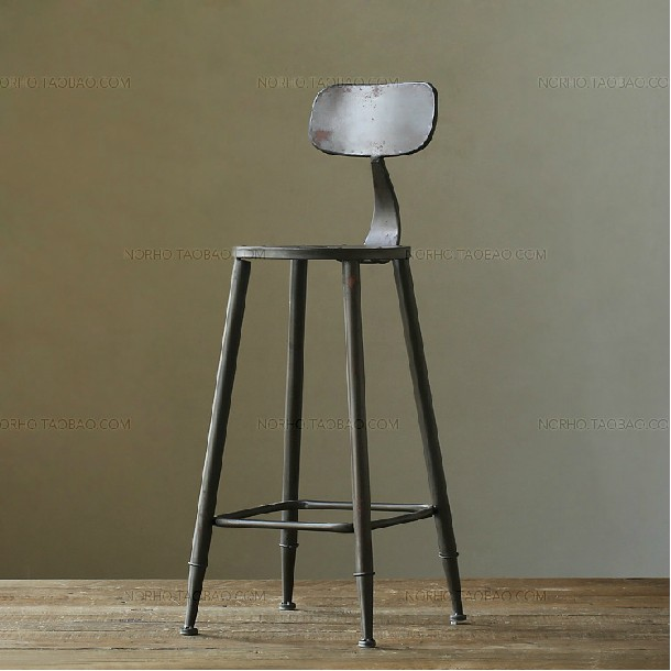 american vintage industrial style wrought iron lounge chair bar stool chairs coffeechina mainland buy industrial furniture