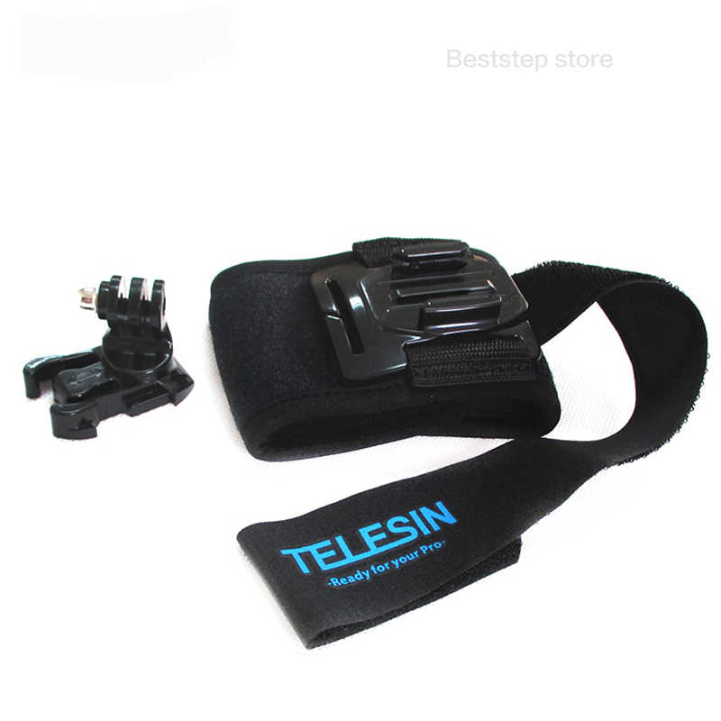 TELESIN 360 градусов вращающаяся рука повязка на ноги ремень крепление для GoPro Hero 6 5 4 3 Дайвинг горный велосипед Экстремальн