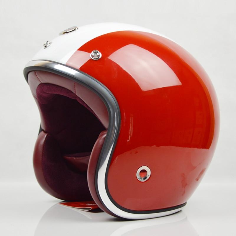 BEON B108 motorcycle helmet vintage Scooter open face helmet retro 3/4 capacete GFRP Material cascos ECE approved,Capacete