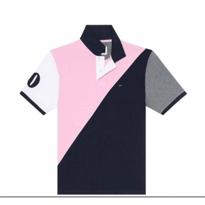 French brand E-P Eden Park Men   Polo   2019 Summer Short   Polos   Casual Sportswear Breathable Mens   Polo   short sleeve Shirts BIG M-3XL