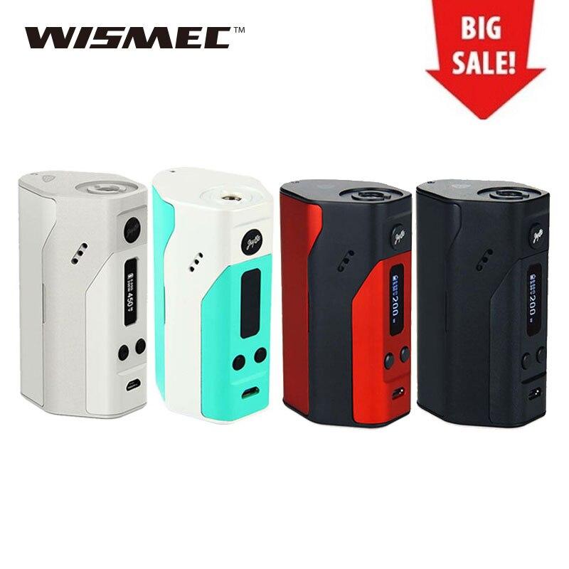 Original WISMEC Reuleaux RX200 Mod TC/VW Modus 200 watt rx 200 Box Mod mit Oled-display Elektronische Zigarette temp Control Mod