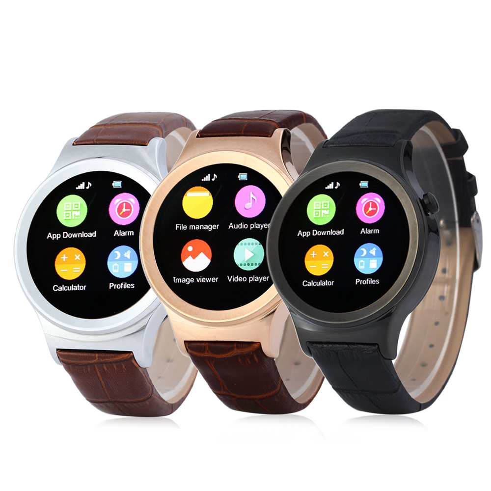 Soporte de Tarjetas SD SIM Smartwatch Bluetooth SMS MP3 MP4 USB para iphone y an