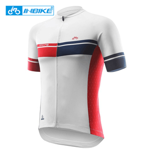 INBIKE Sport Bike Team Racing Cycling Jersey Tops Summer Bicycle Cycling Clothing Ropa Ciclismo Breathable MTB Bike Jersey Shirt(China)