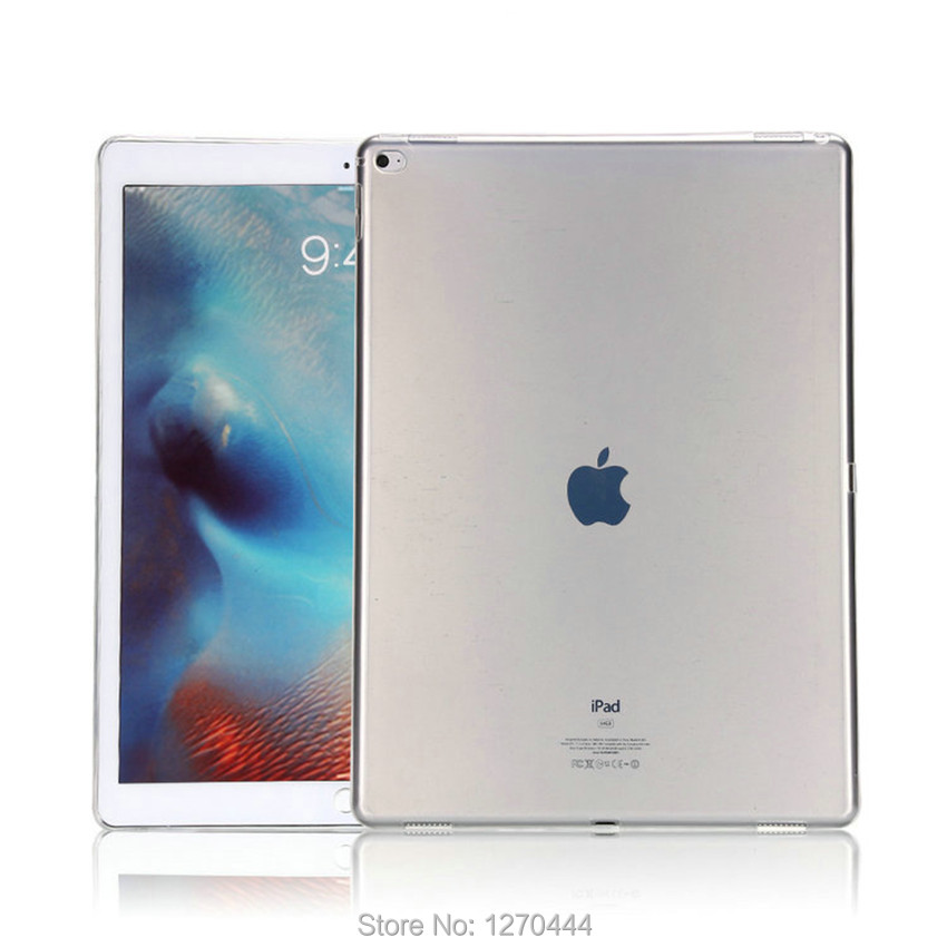 Official Original 1 1 case Cover For Apple iPad Pro 12 9 2017 Cases TPU Smart Clear Cover for iPad Pro ipad plus 12 9 2015 Case in Tablets e Books Case from Computer Office