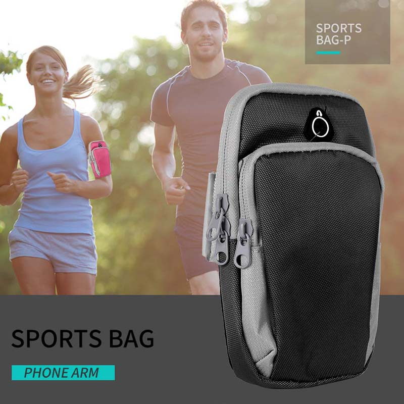 Haissky Universal Arm Band Cover <font><b>Case</b></font> For iPhone X 8 7 6 Plus Sport Runing Arm Pouch For <font><b>Samsung</b></font> S9 S8 S7 <font><b>Edge</b></font> Huawei P20 Lite image