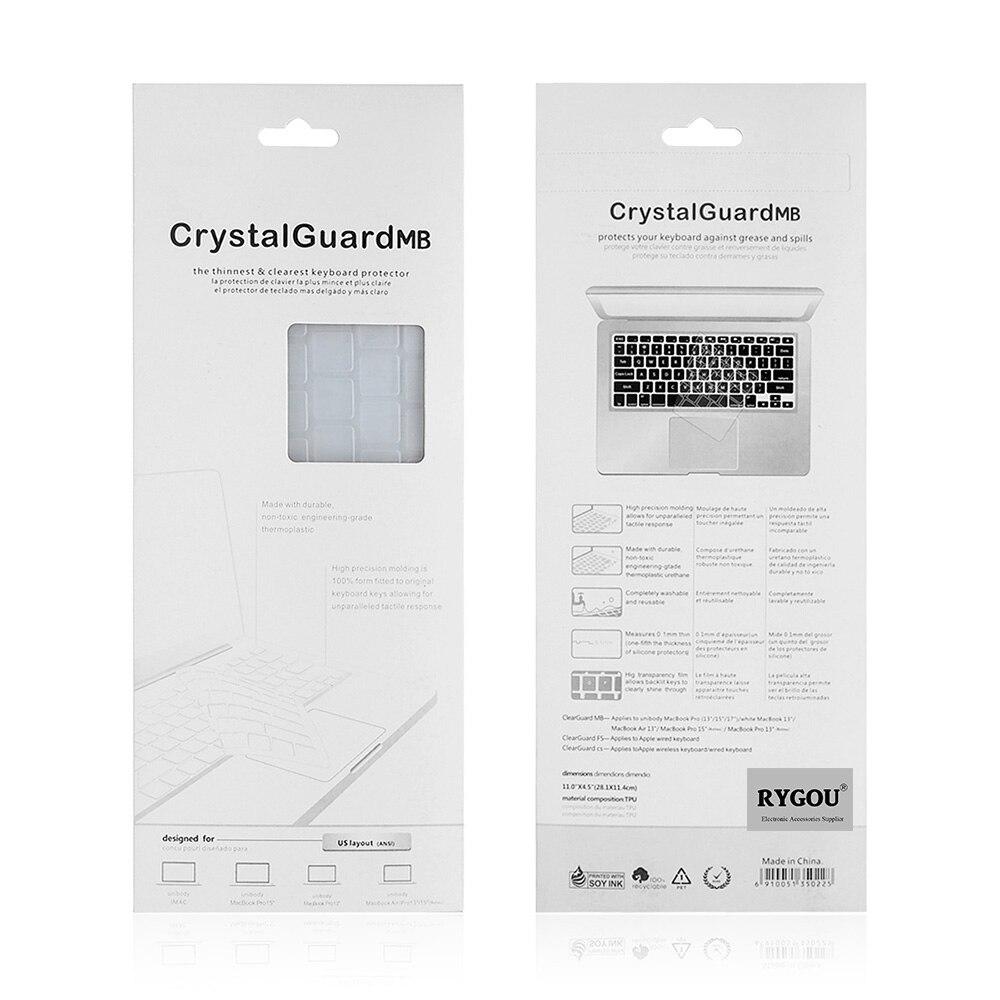 RYGOU Laptop Sticker Decal Guard for MacBook Air Pro Retina - Նոթբուքի պարագաներ - Լուսանկար 5