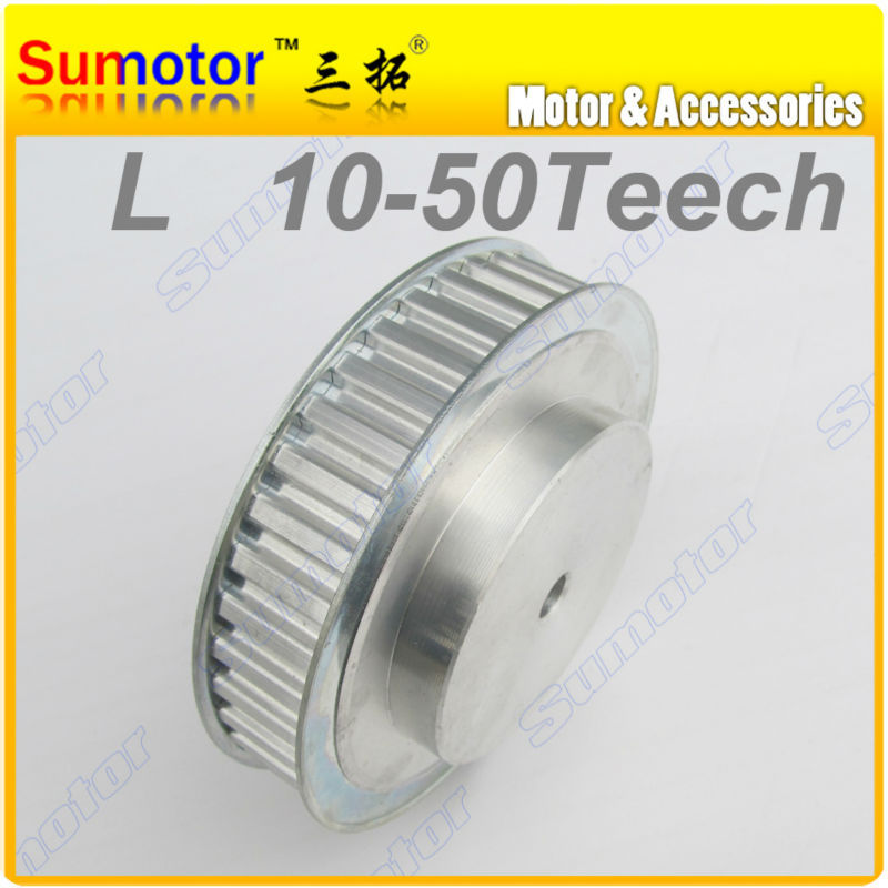 L40T Bore 10mm 40Teeth Pitch 3/8  9.525mm Synchronous Belt Timing Pulleys wheel for 3D printer CNC parts Engraving Machine Part