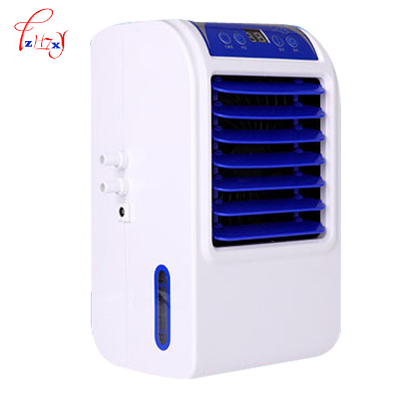6W Home Single Small Air Conditioning Refrigeration Mattress Air Conditioner Heating And Cooling Fan Water Air Conditioning 1pc