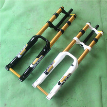ZOOM DH-680 Downhill Bike Fork 26  Bicycle Suspension 20 mm Thru Disc Brake Parts