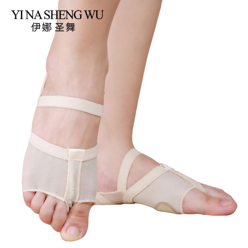 Heel Protector Professional Ballet Dance Socks 1 Pair Belly Dance Practice Foot Thong Pads Dance Accessories Toe Pads Nude Black