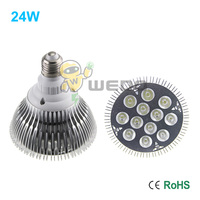 10PCs Lot Ultra Bright 24W 60 Degree CREE E27 Dimmable PAR38 LED Light Bulb Lamp 86