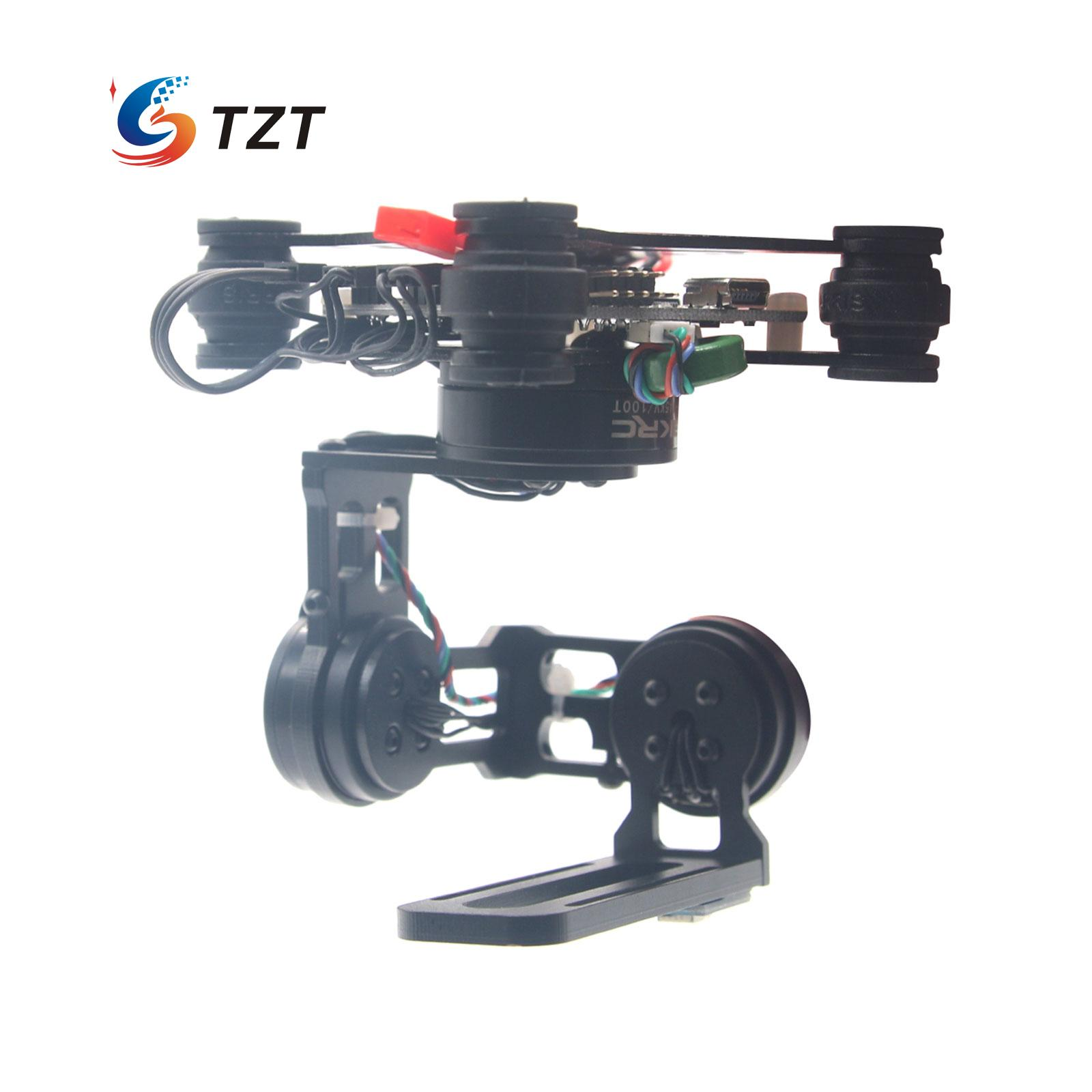 Storm32 FPV 3 Axis Brushless Gimbal Gopro Camera Stabilizer with Motors & Storm32 Controller fpv 3 axis cnc metal brushless gimbal with controller for dji phantom camera drone for gopro 3 4 action sport camera only 180g