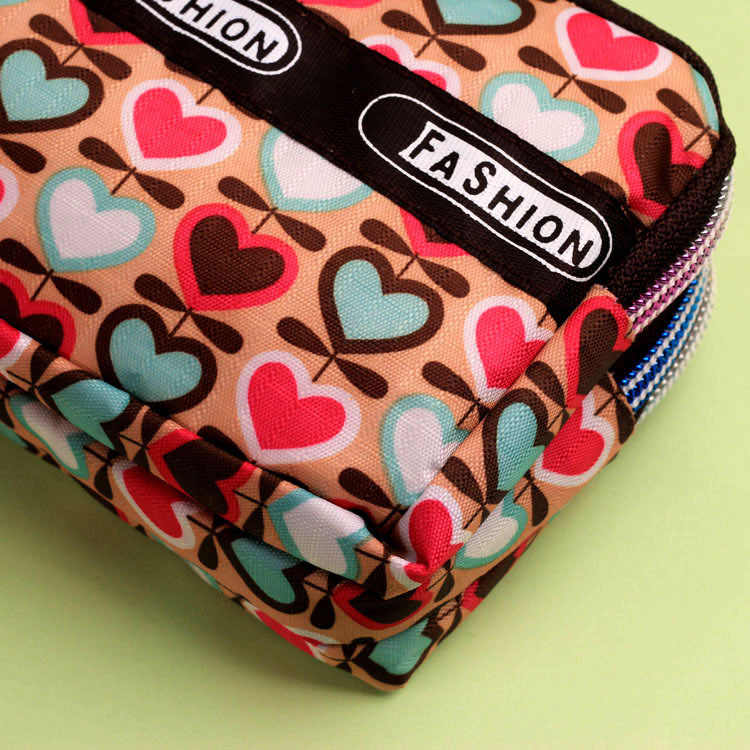 Large Capacity Women Purses Coin Purse Zipper Wallets Wristlet Handbags Canvas Fabric Lady Leys Money Changes Bags