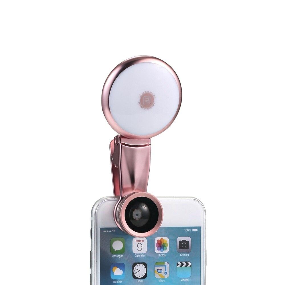 Новые 3 в 1 Высокое качество камеры Мобильного телефона заполнить свет Рыбий Глаз + Широкоугольный + Макро-Объектив для Мобильного Телефона …
