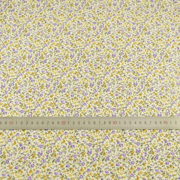 花と葉デザイン 100% コットン生地無地縫製布ティルダの Tecido ティッシュ人形テキスタイルパッチワークセンチメートルアートワーク衣服