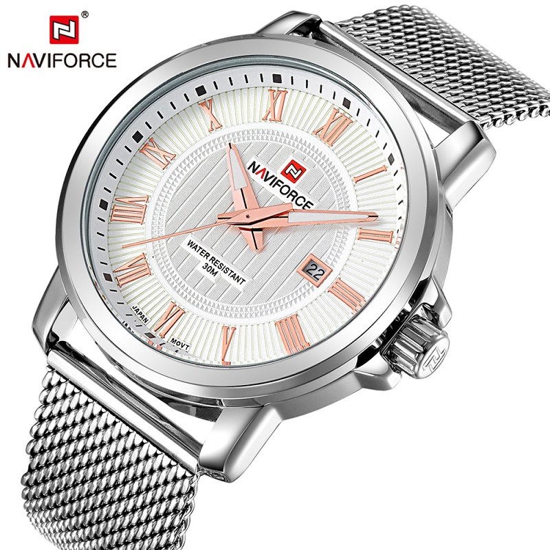 Watches Reliable New Fashion Unisex Women Watches Quartz Analog Sports Denim Fabric News Paper Retro Naviforce Gifts Lady Wrist Watch F80