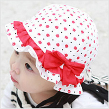 New Baby Hat Flower design Kids outdoor warm Hat candy colour baby girl spring fashion For 6-24 Month GH210