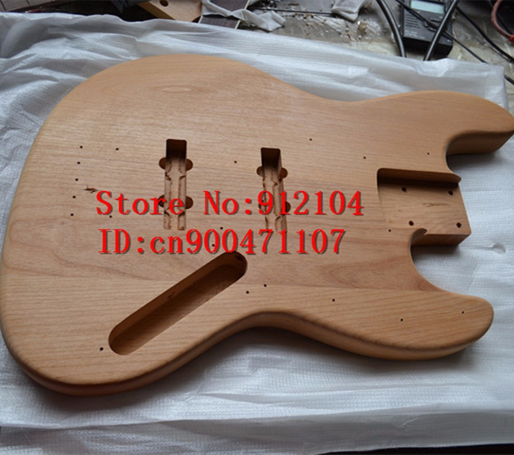 free shipping Big John new electric bass guitar mahogany body in natural color  F-1934 2016 shanghai guitar show new body acrylic guitar real guitar photos free shipping