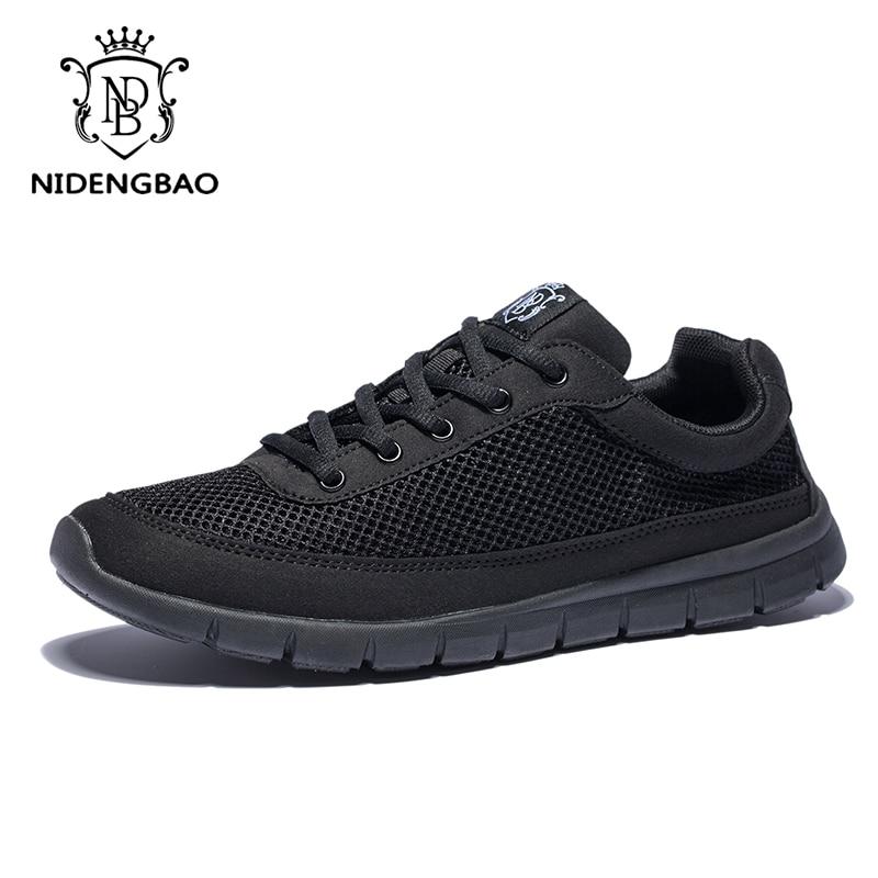 Black Lacets Mans 48 Blue Sneakers Hommes Pour Noir 49 Léger Respirant 50 dark black Super De Taille Occasionnels All gray Marque Marche Grande Chaussures À 435RLAj