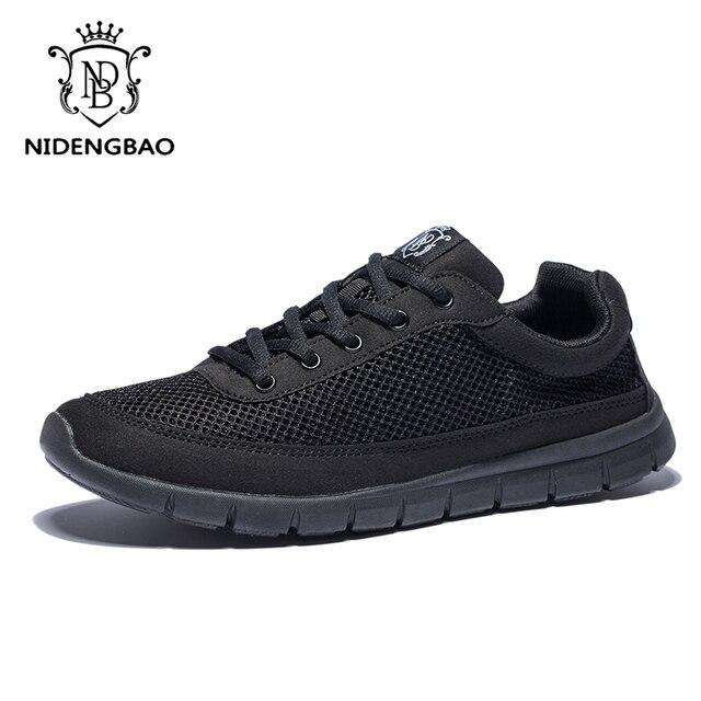 2d7cb8cd97eac4 Marque hommes chaussures décontractées grande taille 15 respirant large baskets  hommes chaussures lumière pour homme marche