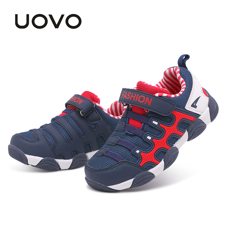 UOVO 2017 spring Kids Shoes Brand Sneakers colorful fashion casual children shoes for boys and girls rubber running sports shoes  children s shoes girls boys casual sports shoes anti slip breathable kids sneakers spring fashion baby tide children shoes