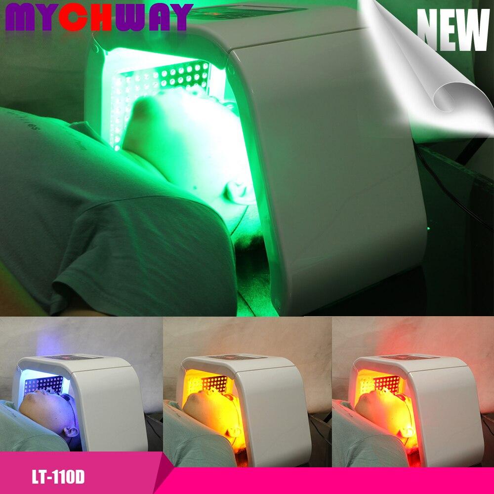 Free Gift !!! Buy LED Photon Rejuvenation PDT Lamp Led Photon Skin Rejuvenation Photon Therapy Equipment 4 Colors Salon